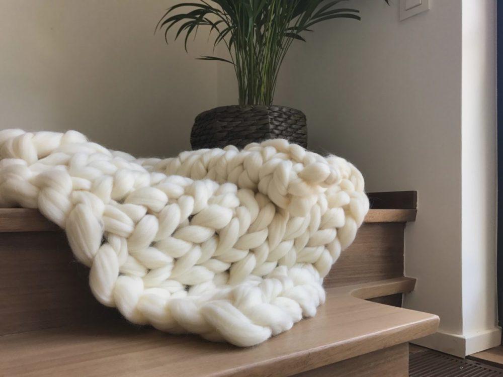 queen size throw blanket merino wool