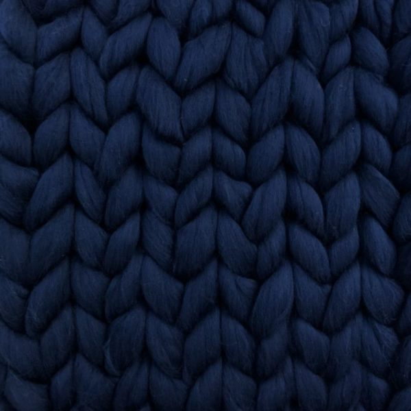 Super chunky merino xxl wool navy