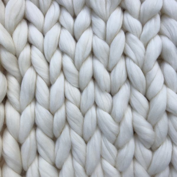 Super chunky merino xxl wool white
